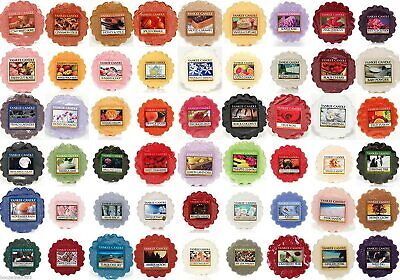 Yankee Candle Fresh 8 Different Variation Scent Wax Tarts Melts Free P&P • 1.99£