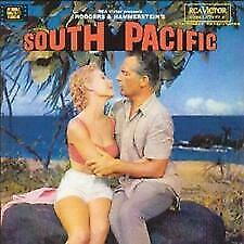 SOUTH PACIFIC- 1958 Movie/Film Soundtrack CD (Rodgers And Hammerstein Musical) • 4.99£