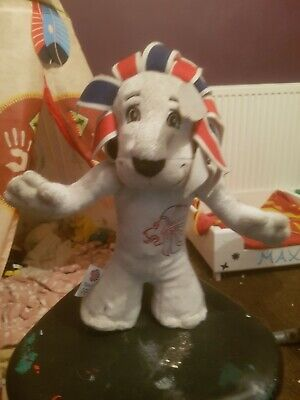 Pride The Lion Olympic 2012 Mascot Plush Toy  • 10£