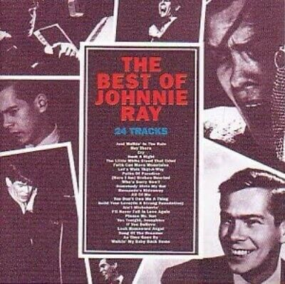 Johnnie Ray Best Of CD NEW SEALED Just Walkin' In The Rain/Cry/Such A Night+ • 4.99£
