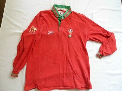 Vintage Wales 1991 Rugby Jersey Shirt Size Xl • 21£
