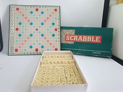 Original 1955 Scrabble Game Spears And Games Vintage • 7.99£