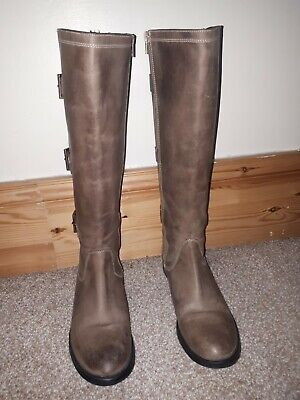 £23 • Buy  Onfire Ladies Boots Brown High Nee Size 7 In Excellent Condition