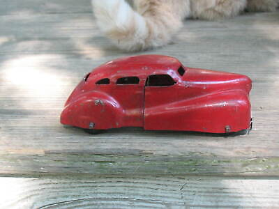 $ CDN114.87 • Buy 1930's-1940's Wyandotte Toys Pressed Steel Red Sedan Car VG Condition Paint Loss