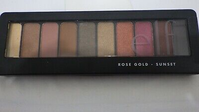$11.88 • Buy NEW IN PACKAGE ELF E.l.f. Rose Gold Eyeshadow Palette, Sunset 81495, 0.42 Oz