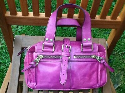 Mulberry Mini Mabel Bag Fuschia Pink Leather With Gift Bag • 99.99£