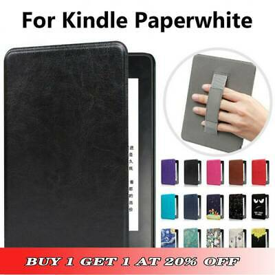 For Amazon Kindle Paperwhite 1 2 3 4 Slim Magnetic Leather Smart Case Cover • 7.49£