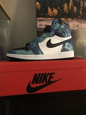 $300 • Buy Nike Jordan 1 Retro High OG - Tie Dye Size 10W/8.5M - IN HAND