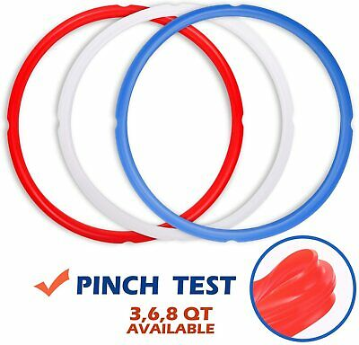 $17.03 • Buy Silicone Sealing Rings For Instant Pot Accessories, Fits 5 Or 6 Quart Models, R