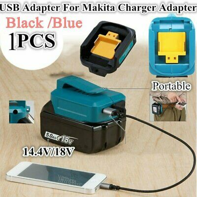 AU22.99 • Buy 2 USB Port Phone Charger Adapter Li-ion Battery For Makita 18V 14.4V BL1830/1430