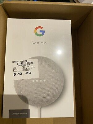AU45 • Buy Google Nest Mini (2nd Generation) Smart Speaker - Chalk
