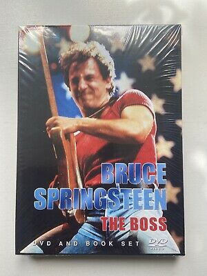 Bruce Springsteen 'The Boss' Dvd And Book Set • 3£