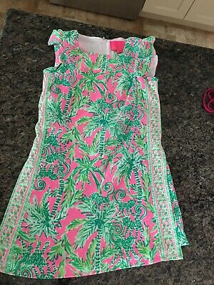 $60 • Buy Lilly Pulitzer Romper Xs, Pink & Green