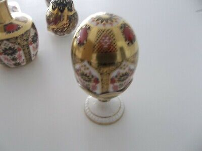 Royal Crown Derby Old Imari Egg And Egg Cup • 102£