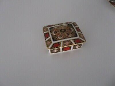 Royal Crown Derby Old Imari Small Box With Lid • 43£