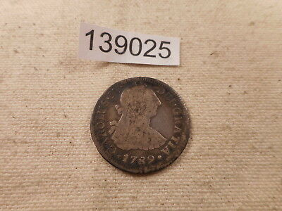 $ CDN39.55 • Buy 1789 MO Mexico 2 Reales Die Crack Reverse - Very Nice Collector Coin - # 139025