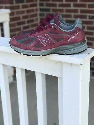$60 • Buy New Balance 990v4 Burgundy Red Maroon Made In USA Men 10.5 Send Offers!!!!