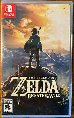 $49.90 • Buy Legend Of Zelda: Breath Of The Wild (Nintendo Switch, 2017) Game Sealed