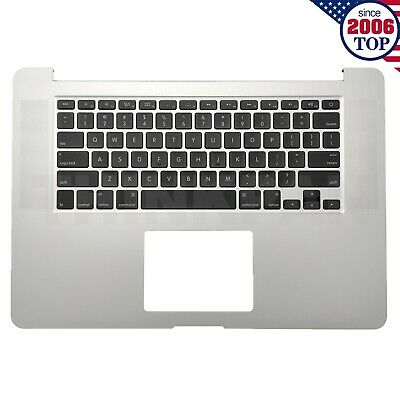 $69.99 • Buy New Top Case Palmrest + Keyboard For MacBook Pro 15  A1398 Mid 2015 613-00147-B