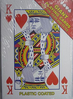 Pack Of Giant Playing Cards  For Fun, Fairs And Fetes • 4.49£