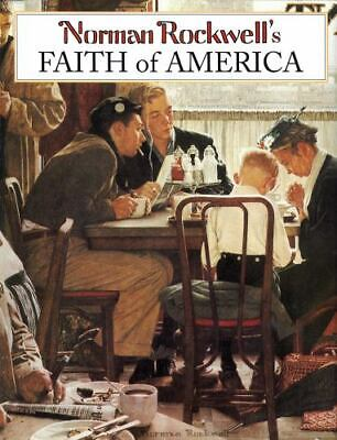 $ CDN9.12 • Buy Norman Rockwell's Faith Of America, Rockwell, Norman,Bauer, Fred, Good Book