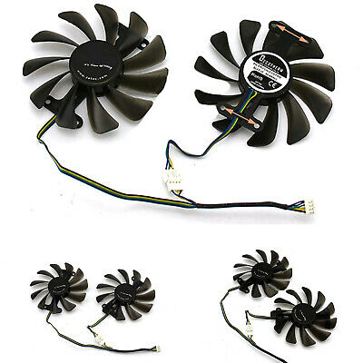 AU19.17 • Buy GPU Cooling Fan Graphics Card For ZOTAC GeForce GTX 1080 1070 AMP Accessories
