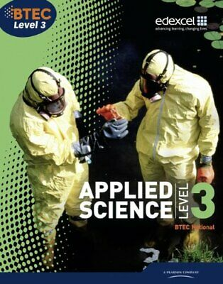 £44.34 • Buy BTEC Level 3 National Applied Science Student B, Annets, Foale, Llewellyn, M..