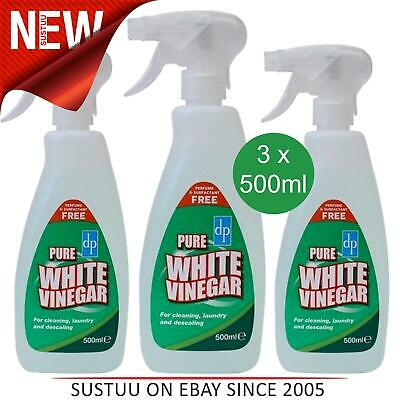 Dri-Pak Pure White Vinegar Spray│Washing-Cleaning-Descaling│Removes Tough Stains • 9.99£