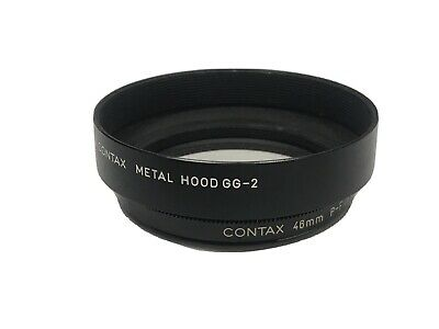 $ CDN112.04 • Buy EXC5 CONTAX 46mm P-FILTER & GG-2 HOOD BLACK SET FOR G2 FROM JAPAN