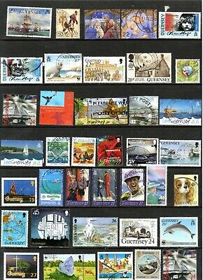 Guernsey - Used Commemoratives X 111 • 0.99£