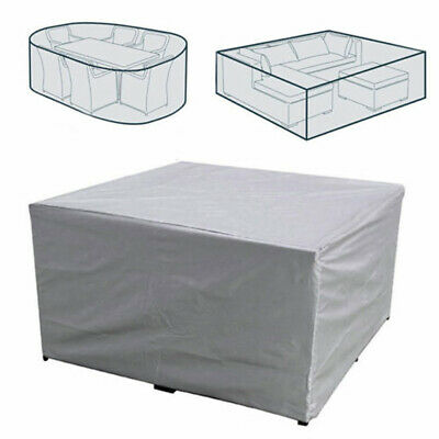 Outdoor Furniture Cover Waterproof Patio Rattan Table Chair Cube Set Park Garden • 13.92£