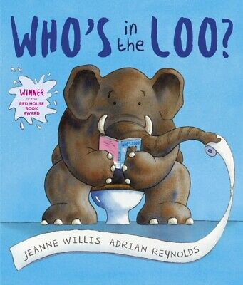 ID245z - Jeanne Willis - Who's In The Loo - Paperback - New • 11.99£