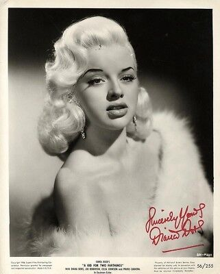 DIANA DORS Signed 'A Kid For Two Farthings' Photograph - Film Actress - Preprint • 3.99£