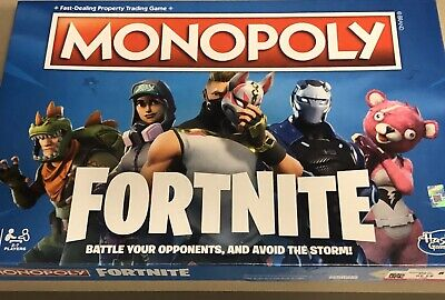 $10 • Buy Monopoly Board Game Fortnite Edition 2018 Hasbro Gaming NEW Sealed