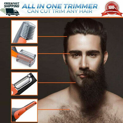 $ CDN26.30 • Buy 2 In 1 Hair, Nose, Ears, Eyebrows, Neck, Beard Trimmer For Adults & Kids