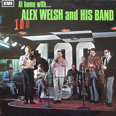 ID5660z - Alex Welsh  His Band - At Home With...Alex - SX 6213 • 9.18£