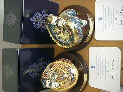 Royal Crown Derby - Dragon Of Fortune + Dragon Of Happiness  • 30.80£