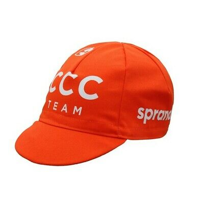 Ccc Sprandi 2020 Pro Cycling Team Summer Under Helmet Bike Bicycle Hat Cap  • 9.99£