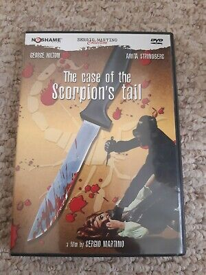 The Case Of The Scorpion's Tail Sergio Martino Oop No Shame Region 1 Ntsc Dvd • 7.99£
