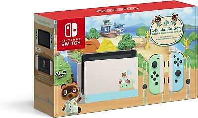 AU699 • Buy Nintendo Switch Animal Crossing New Horizons Special Edition Console