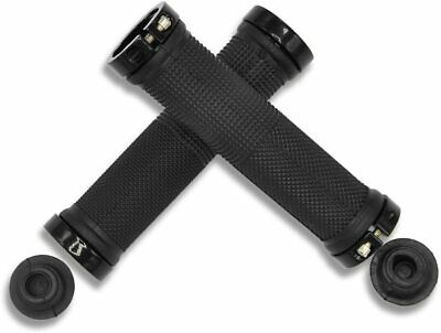 AU11.90 • Buy 1Pair MTB/BMX Bike Handlebar Grips Rubber Non-slip Durable Bicycle Handle Grips