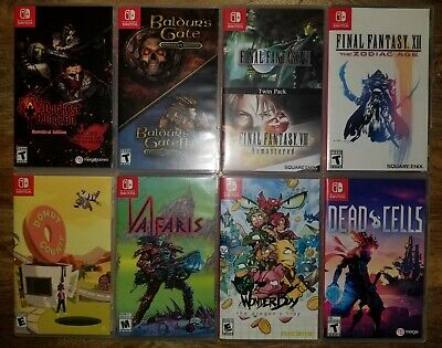 $140 • Buy Lot Of 8 Nintendo Switch Games - Very Good Condition