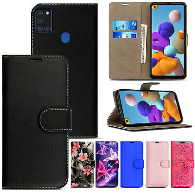 Case For Samsung Galaxy A10 A11 A21S A41 A51 A71 Flip Leather Wallet Phone Cover • 2.90£