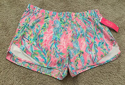 $55 • Buy NWT Lilly Pulitzer Ocean Trail Short Multi Unicorn Of The Sea Size Large