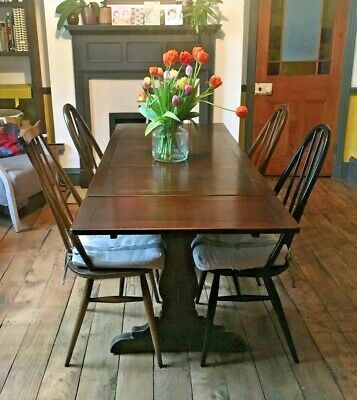 Ercol Dining TABLE Extending To Seat Up To 6 / 8 Delivery Available • 125£