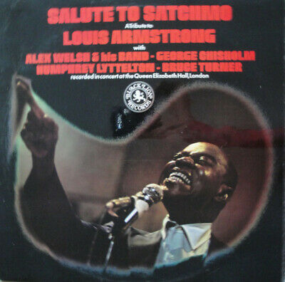 ID148z - Alex Welsh  His Band - Salute To Satchmo - BLPX 12161/2 • 23.66£