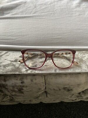 CHRISTIAN DIOR Glasses Frames With Clear Lenses, Pink With Print. See Pics • 89.99£
