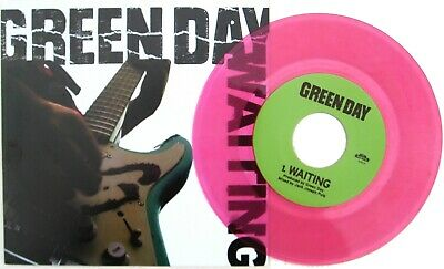 GREEN DAY 7  Waiting NEON PINK Vinyl / Maria - LIVE 2014 Official 300 Made UNPL. • 24.95£