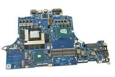 $ CDN1514.52 • Buy 3R2RY Dell Alienware M15 Motherboard W I7-8750H CPU RTX2070 Max-Q 8GB