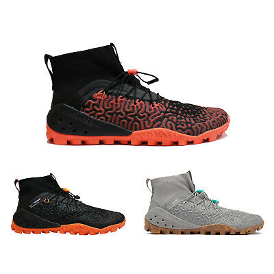 Vivobarefoot ESC Tempest Mesh Synthetic Casual Lace-Up Hi-Top Mens Trainers • 165.08£